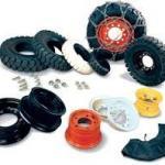 Pneus e rodas para empilhadeiras